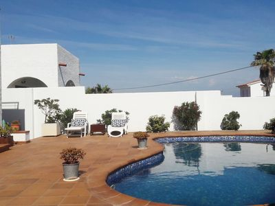 Photo for VERY BEAUTIFUL HOUSE WITH SEA VIEW, PRIVATE SWIMMING POOL AND BARBECUE