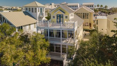 Photo for Seaside Proper 'Amazing Grace' Steps away from beach w/ tower beach views!