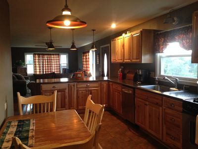 Photo for New!!! Cozy Ranch, Private Yet Convenient To Oneonta/cooperstown. Amazing Views!