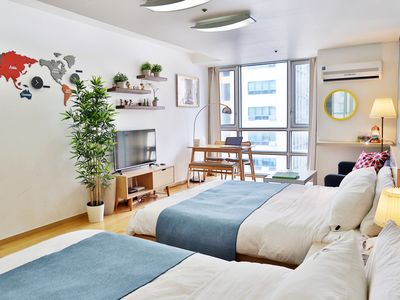 Photo for Largest Flat in Gangnam #1 (Premium Bed)