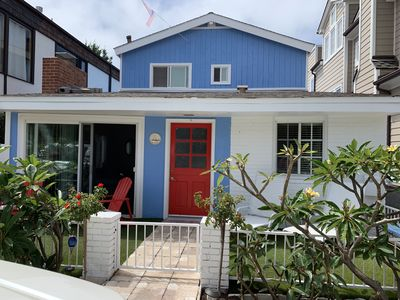 Photo for Quintessential Balboa Island Beach Cottage, Monthly rental discount Nov- May!