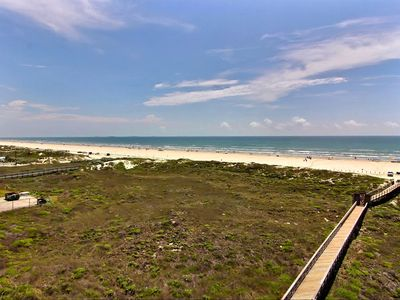 Photo for BeachSide 514 - Breathtaking Beach & Golf Views from 3 balconies; Magnificent!