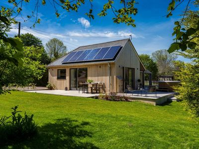 Photo for Sunnybrook - Carbon Neutral House with new Premium Wood Fired Hot Tub (Shaldon)