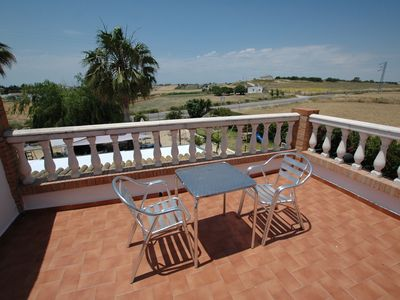 Photo for Rooms with air conditioning, garage and terrace,wifi