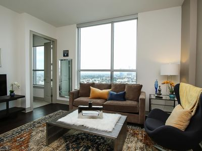 Photo for Unique 1BR w/ Pool + Gym in Museum District