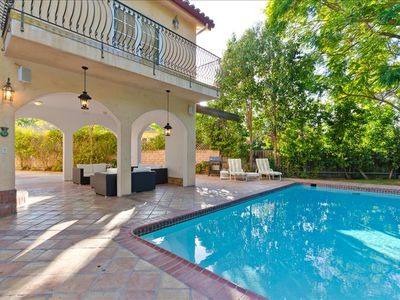 Photo for Laurel Canyon Mediterranean Villa - 4 Bedroom w/Pool!