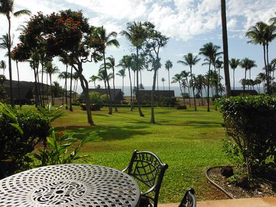 Photo for Island of Molokai... Ocean View w/ Full Kitchen  Studio Just Steps Away To Beach