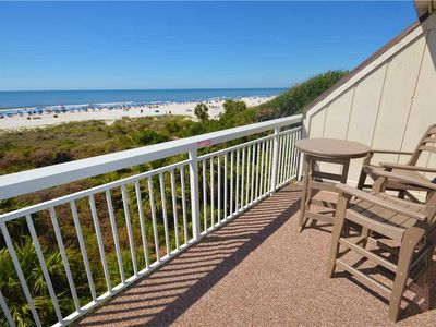 Photo for 311 Breakers | UPDATED Throughout | Amazing Oceanfront View | Across the Street from Coligny Plaza!