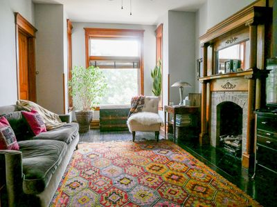 Photo for Chicago Greystone Home with Bohemian Style Sleeps 6