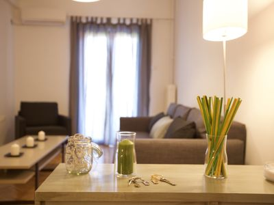 Photo for Newly Renovated Modern Apt, 4 Stops To Acropolis