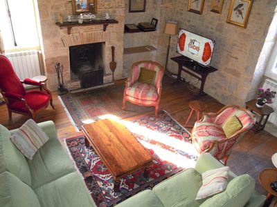 Photo for LASCAUX CAVES DORDOGNE PERIGORD NOIR  -- STONE MANOR HOUSE SLEEPS 6 WITH A/C