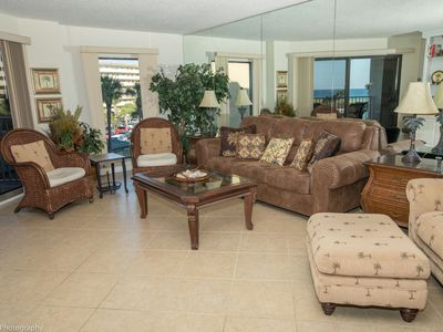 Photo for IR 217 is a pet Friendly 2 BR with Sunset Views sits beachside with easy access
