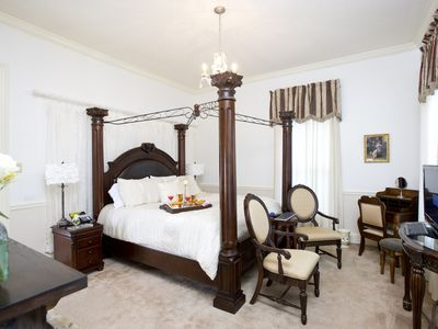 Photo for Historic Sion Bass House, Private Guest Suite w/ 2 Person Jacuzzi Tub