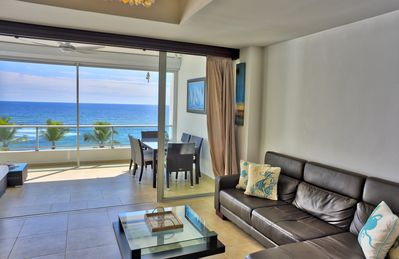 Photo for Scenic Beachfront Two Bedrooms Apartment (520)