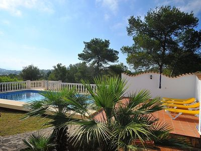 Photo for Apartment in Balcón del Mar with Parking, Washing machine, Pool, Garden (90249)