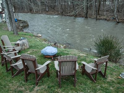 Photo for NEW! Damascus 'A River's Edge Lodging' w/Views