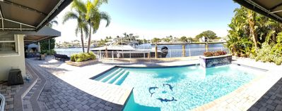 Photo for Amazing Waterfront Home on the Intracoastal Waterway with Huge Pool!