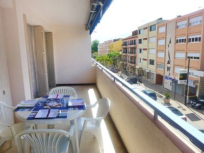 Photo for Apartment in the center of Le Lavandou with Lift, Parking, Internet, Terrace (256975)