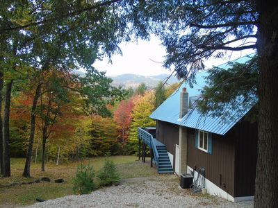 Our home with its Fall colours.