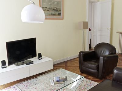 Photo for Charming 70m2 apartment with parking