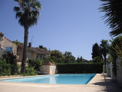 "Photo for Studio ""La Nautique I"" with swimming pool, 5 minutes walk from the beach"