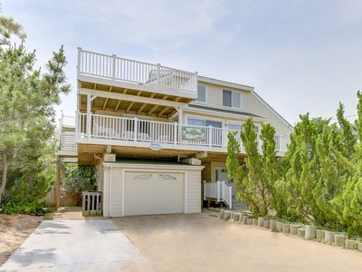 Photo for Semi oceanfront beachy bliss with a pool and Eagles Nest! Sleeps 18