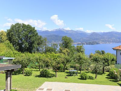 Photo for Stresa | Enchanting large house with garden and stunning lake view