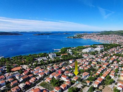 Photo for Apartment 166 m from the center of Vodice with Parking, Internet, Air conditioning, Pool (643151)