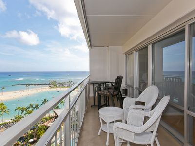 Photo for Ocean & Lagoon Views -Best Unit in the Building - Hurry to Book Now & Save Big!