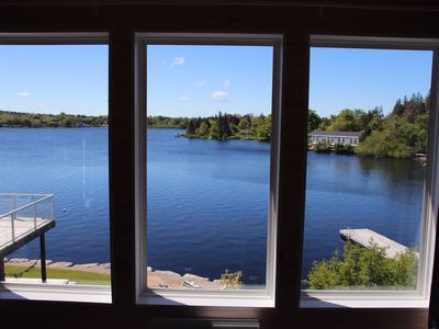 Photo for Modern Lakefront loft only 5 minute drive to the town of Yarmouth