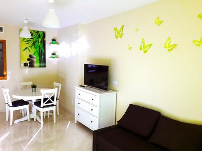 Photo for 2 bedrooms sharming apartment ,free WIFI & parking, La Cala ,Benidorm