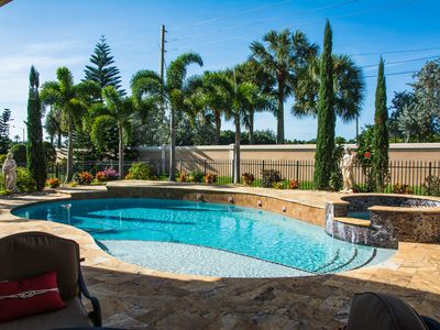 Photo for Well Appointed Mediterranean-Style Home w/X-Large Pool - Close to Polo and Golf