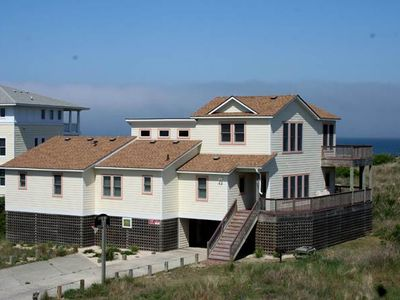 Photo for #446: OCEANFRONT Home in Corolla w/HotTub and Rec. Room