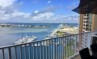 Photo for Spectacular Sunset Views! Across Street From Pensacola Boardwalk - No Car Needed