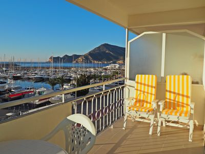 Photo for New apartment 3C  in Altea with harbour views COVID FREE