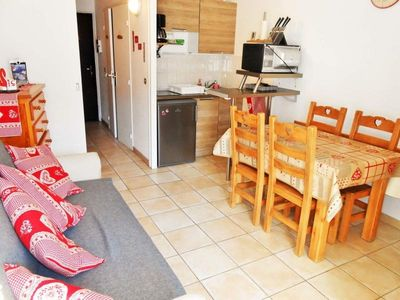 Photo for Apartment Les Deux Alpes, studio flat, 3 persons