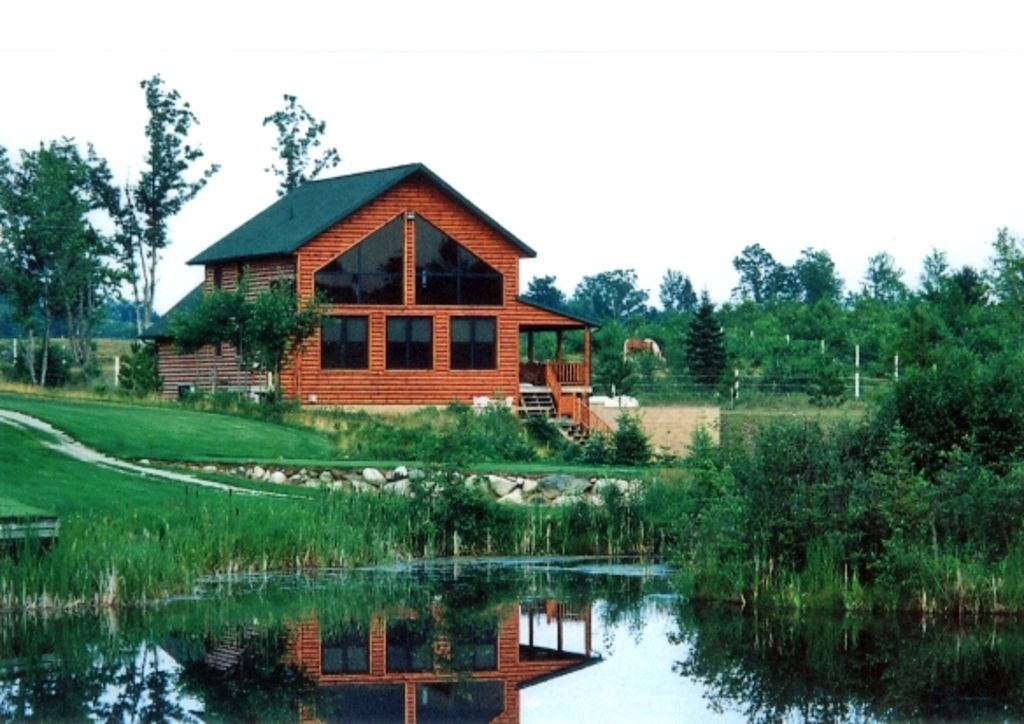 Log Home On Golf Course With Pond Homeaway