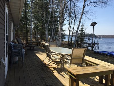 The Front Deck is a great way to enjoy the lake!