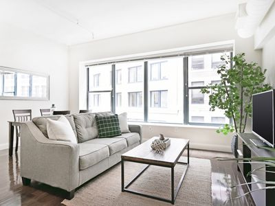 Photo for Sonder | Financial District | Chic 2BR + Laundry