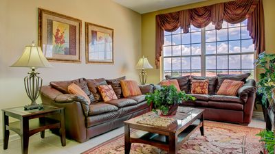 Photo for Intimate Condo in Private Resort Near Disney - 3 Bedrooms, 2 Bathrooms