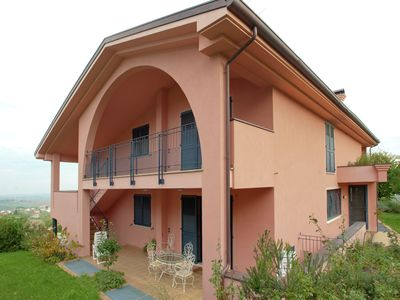 Photo for House with garden, in a panoramic position on the hills of Rimini