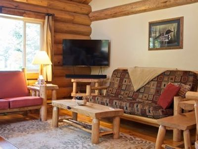 Photo for Happy Cabin: Two Bedroom  at Wolfridge Resort  with pool and hot tub