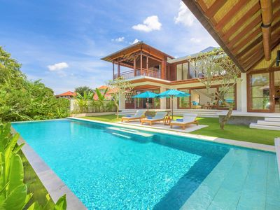 Photo for NEW! Unique 3BR Villa Canggu With Stargazing View Near Finns Beach Club