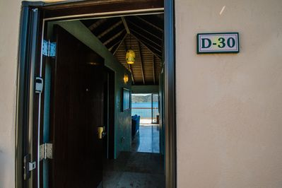 You'll be in Villa D-30.  Can you see the view from the front door?  Yes!