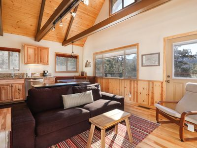 Photo for The Bunk House: Slope Views! Hot Tub! Propane BBQ! Internet! Gas Fireplace!