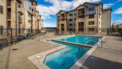 Photo for King Suite with private deck, Mtn Views at base of Am Largest Ski Resort!