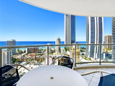 Photo for Beautiful 2 Bedroom Ocean View in the Heart of Surfers