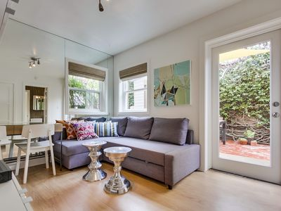 Photo for Beachcombers Hideaway, Dog Friendly, Enclosed Patio, 1 Block to Beach