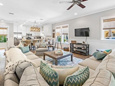 Photo for Point of View-30A☀Luxury 5BR Seacrest Bch☀Aug 4 to 7 $1869 Total! Huge Comm Pool