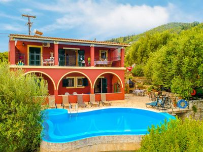 Photo for Bougainvillea: Large Private Pool, Walk to Beach, Sea Views, A/C, WiFi, Car Not Required, Eco-Friend